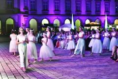 Mannheim Schloss in Flammen 2019 mit  Christian ( Chako ) Habekost - Saengern und Musikern des Nationaltheaters Mannheim